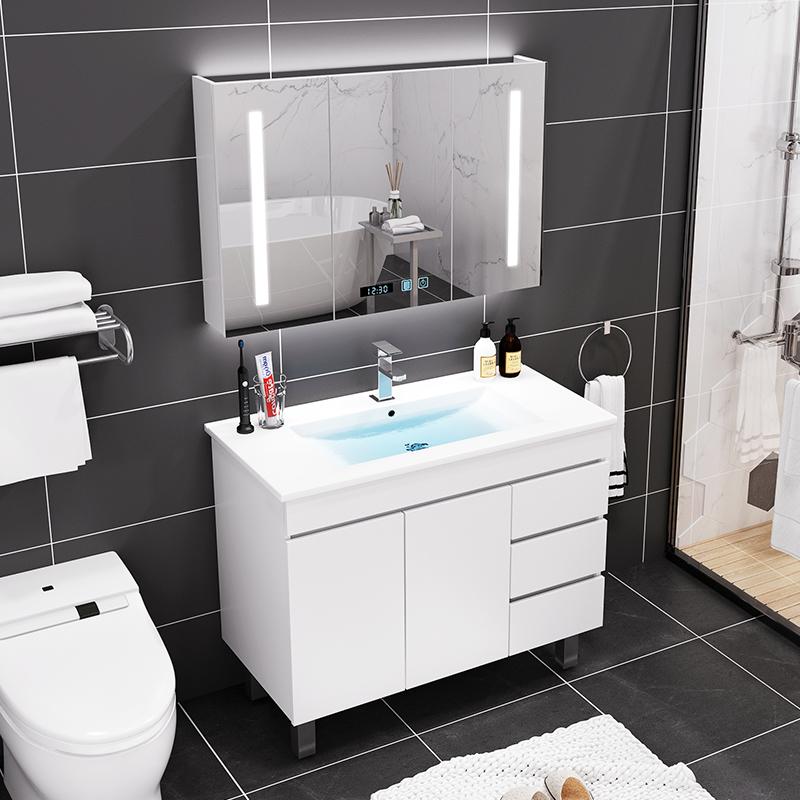 北欧风格组合现代简约卫生间浴室柜(非品牌)