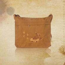 佛教用品帆布僧包居士包和尚包单肩包斜挎包包多功能包香包袋