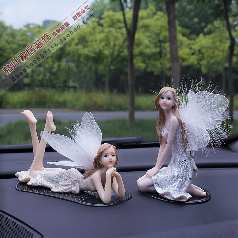 天使精灵仙女花仙子女孩车载中控台48.00元包邮