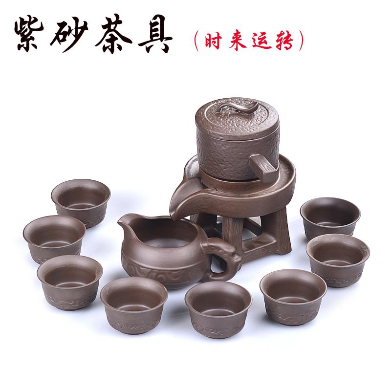 �腥耸�磨自�庸Ψ虿杈咛籽b��s陶瓷家用泡茶��意�r�磉\�D紫砂