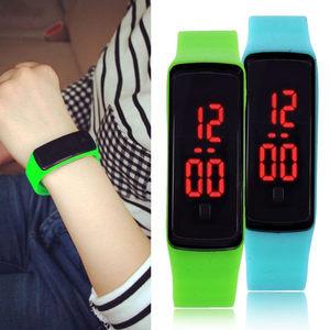 LED非智能触屏手环运动手表夜光男女士表情侣表儿童学生电子手表