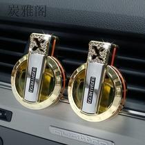 车载香水持久淡香氛车内男女高档香薰车上汽车用空气清新剂出风口