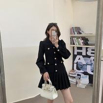 张大人2021秋装新款大码女装胖妹妹mm遮肚子连衣裙气质微胖显瘦裙