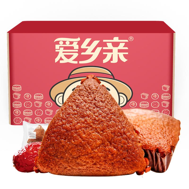愛鄉親蜜棗泥蛋糕年貨 整箱營養早餐小糕點 零食888g