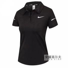 女款高尔夫女装短袖T恤夏季运动衣服透气速干golf服装POLO衫球服图片