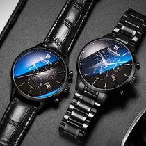 邦顿手表男士新概念机械表全自动超薄黑科技学生国产腕表防水男表