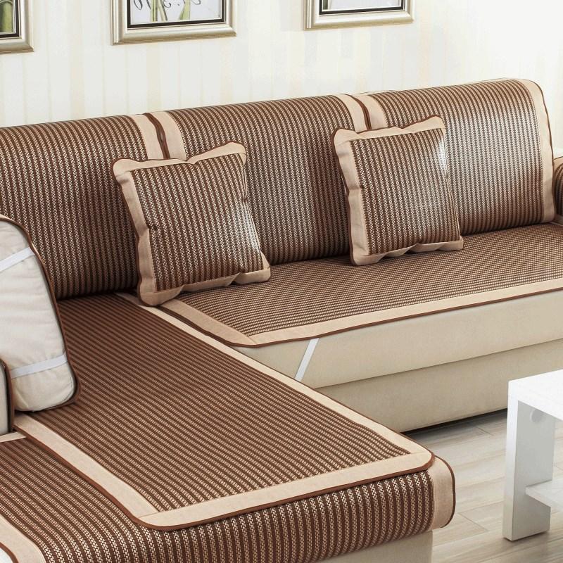 新款摺疊沙發床1.2/1.5/1.8米長坐墊 涼席簡易單人雙人三人沙竹席