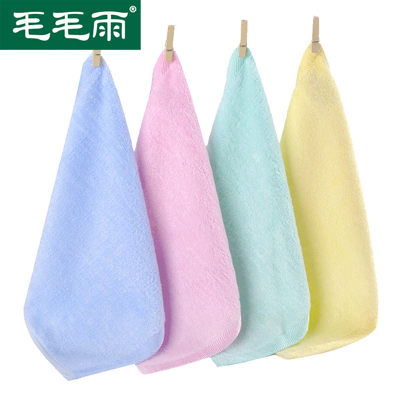 8 картридж elmo дождь бамбук пульпа волокно волосы полотенце полотенце мыть очистка полотенце детский сад ребенок полотенце установите