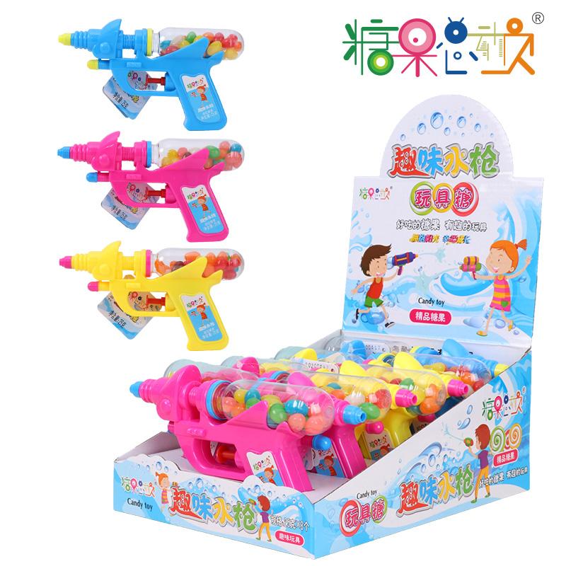 糖果总动员趣味水枪玩具糖果零食好吃又好玩儿童创意玩具糖果零食