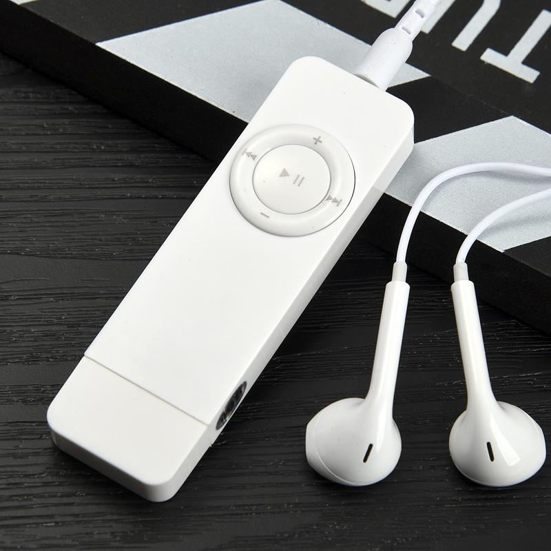 MP3播放器随身听学生款可爱迷你运动跑步女生英语口香糖小P3正品