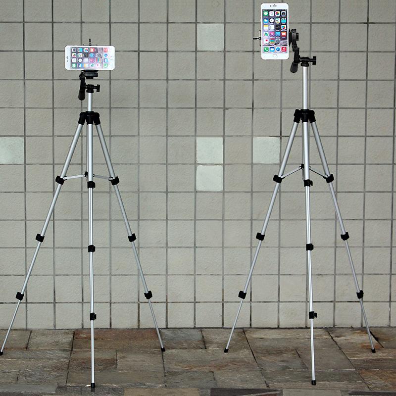 Рекламный кронштейн штатива для мобильного телефона один Универсальная переносная съемная съемка с автофокусом