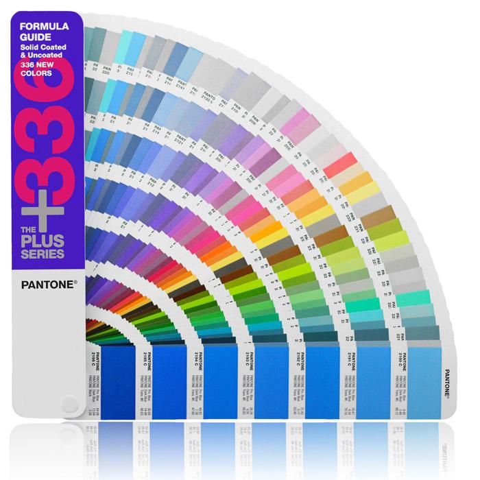 PANTONE国际标准色卡潘通色彩配方印刷(C/U新增336色)GP1301-SUPL