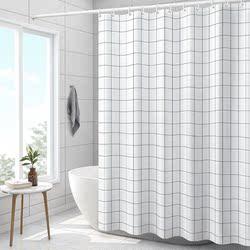 浴室隔断浴帘杆套装免打孔洗浴防水布洗澡淋浴房卫生间挂帘子高档