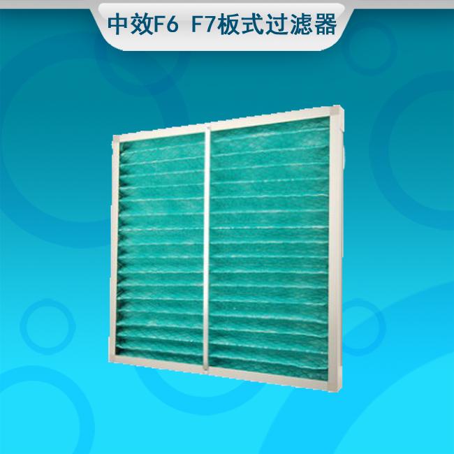 中効果フィルターエアコン中効果空気フィルタ折りたたみ式アルミフレーム静電綿中効果板フィルタ