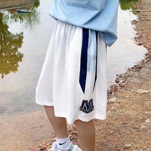 夏季超薄款冰丝短裤男女潮流运动裤