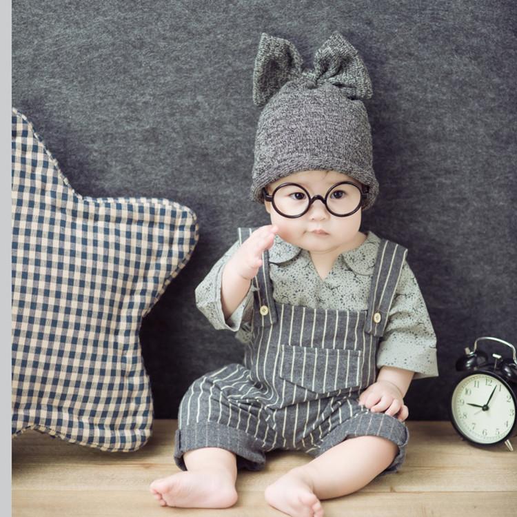 宝宝拍照衣服婴儿童满月百天照相摄影服饰道具影楼写真拍摄服装