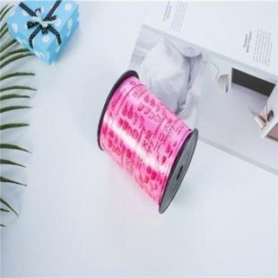 布艺蛋糕蛋糕毛巾字生日快带花带丝带绸带粉色紫色红色