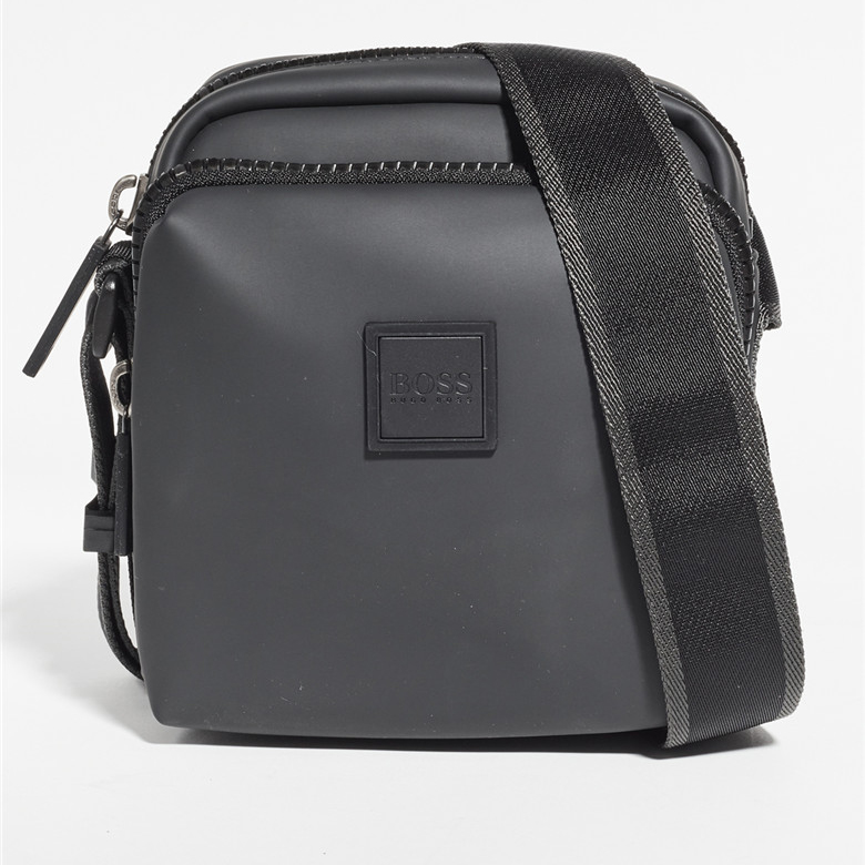 Buy Hugo Boss technology twill nylon coated Mini messenger bag Single Shoulder Messenger Bag for men