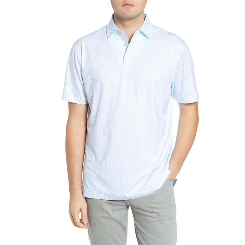 Purchase of American Peter Miller mens Polo Shirt Golf Polo UPF 50 + sunscreen short sleeve T-shirt