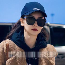 2020新款墨镜女ins酷街拍旅行拍照潮流圆脸大脸显瘦开车太阳眼镜图片