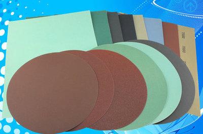 金相砂紙アルミナ耐水砂紙金相研磨ペーパー研磨円形テープ直径200 mm