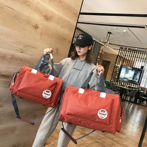 旅行包韩版短途潮耐用牛津布新品男女通用斜挎包手提大容量旅行袋