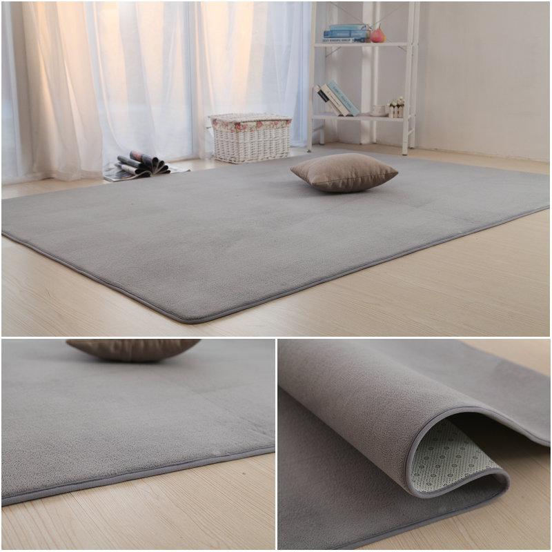 卧室茶几客厅满铺可爱床边毯地垫
