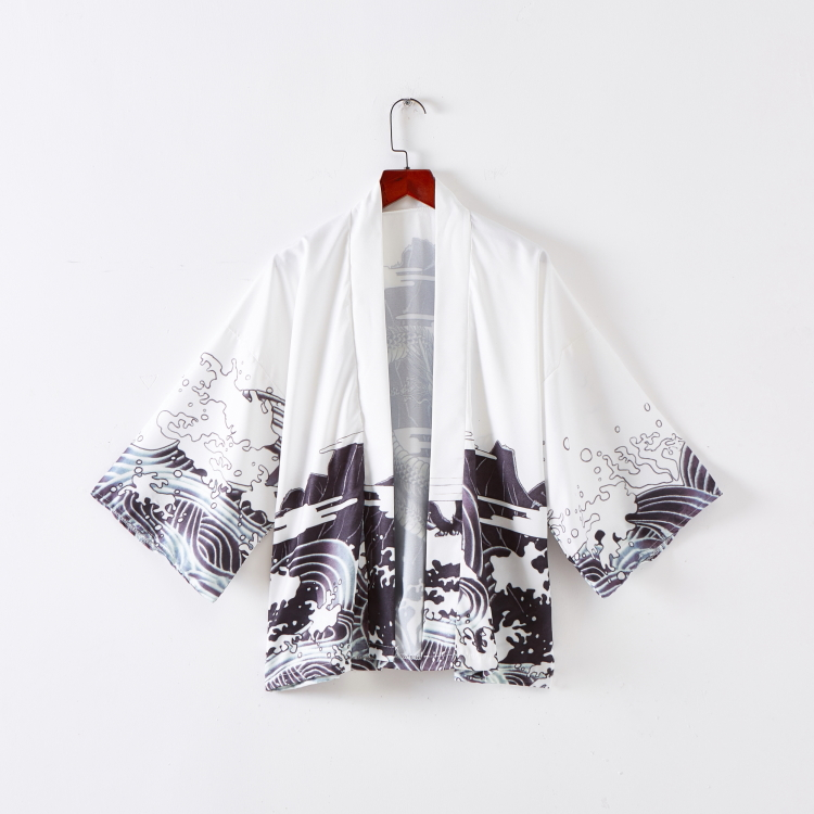 Japanese cardigan and kimono, domineering Dragon Robe, boys and girls coats and wind and snow spinning