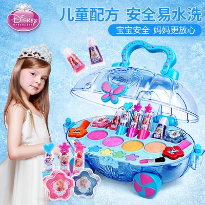迪士尼儿童化妆品套装无毒女孩玩具