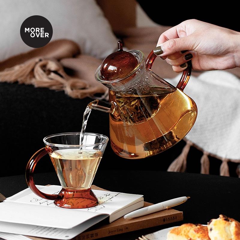 Moreover现代风格茶具三件套 简约ins风