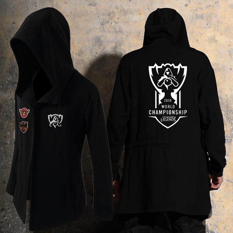 英雄联盟S9总决赛skt rng皇族战队队服男女卫衣比赛服外套衣服