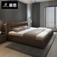 Восхищаться мысль оригами кровать уютный лицевая коровья кожа господь ложь двуспальная кровать 1.8m группа дерма кровать первый кабинет подходит смысл кожа кровать