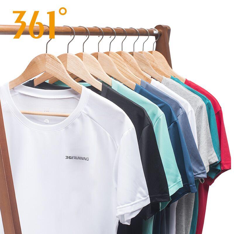 (过期)善客运动专营店 361运动短袖速干衣2021 361度t恤 券后39元包邮