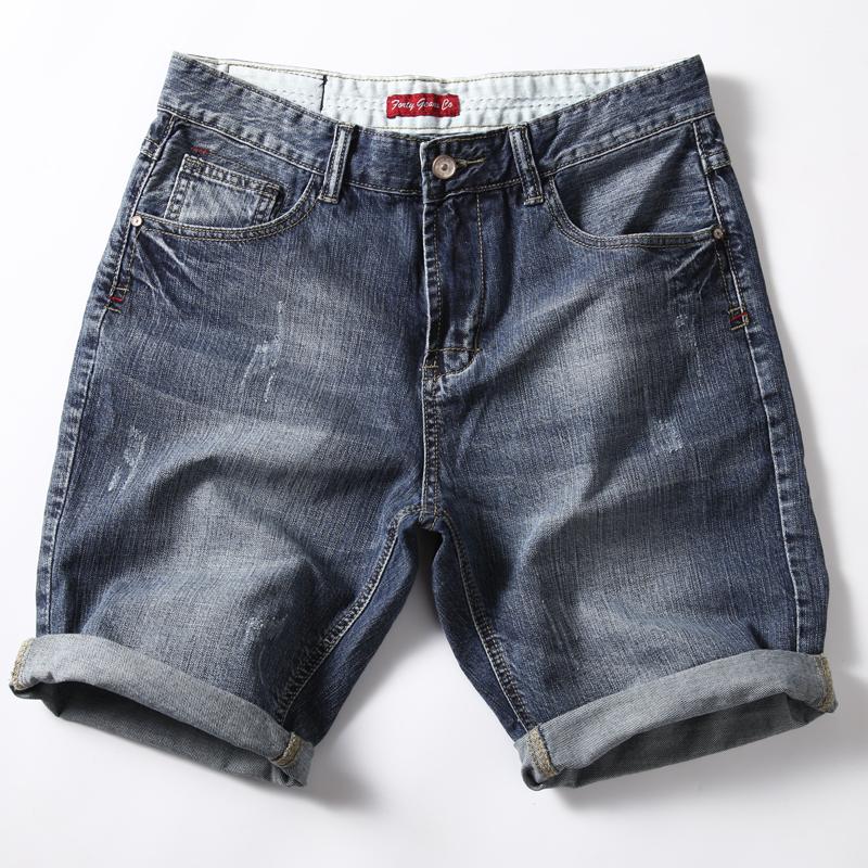 热销41件假一赔十夏季牛仔五分裤宽松休闲破洞短裤