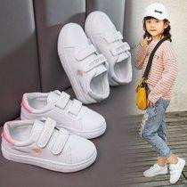 男童小白鞋春秋款透气儿童鞋子女孩板鞋小学生休闲运动中大童潮鞋