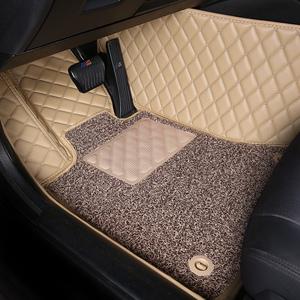 新款全包围专车专用汽车脚垫皮质丝圈专车定制防水防滑耐脏易洗