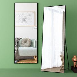 简约全身镜卧室试衣镜家用少女壁挂落地镜立体大镜子网红镜穿衣镜