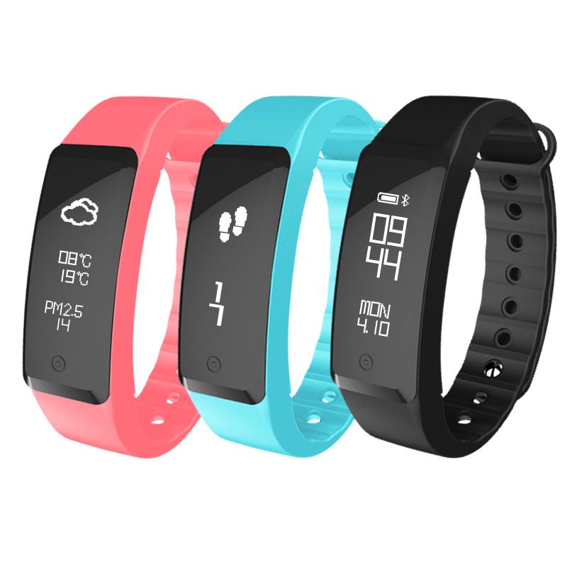 全程通計步器智能手環 手表信息提醒睡眠監測支持安卓蘋果遊泳