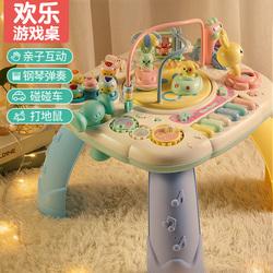 婴儿童玩具手拍鼓益智拍拍鼓一岁宝宝1六个月6音乐10早教9可充电2