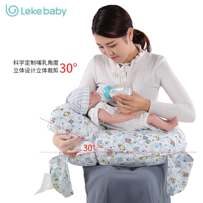 樂刻 哺乳墊哺乳枕喂奶枕頭護腰浦乳枕嬰兒喂奶枕托抱嬰兒神器