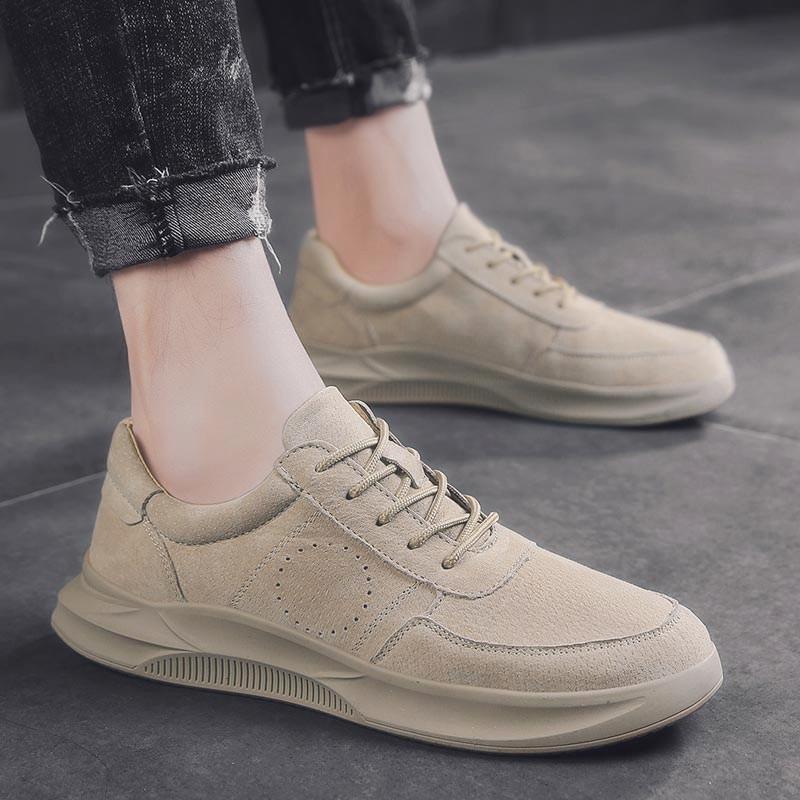 男鞋子韩版潮流潮鞋百搭男士休闲鞋夏季透气板鞋增高2019新款春季