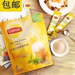 立頓經典口味拿鐵奶茶 18條315g 沖飲即溶條裝泡沫豐盈奶茶包郵
