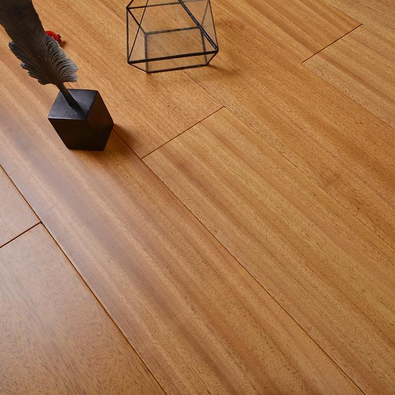 非洲柚木紐墩豆大板純實木地板 免龍骨鎖扣耐地暖 廠家直銷