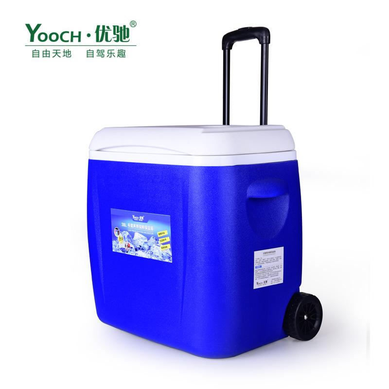 Youchi автомобиль горячий и холодный двойной рычаг изоляционная коробка Автомобиль двойной автомобиль морозильник 38L
