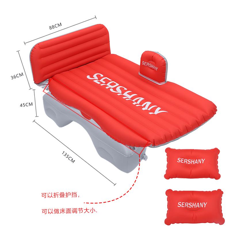 热销26件限时抢购2019斯巴鲁森林人傲虎车载充气床汽车后排睡垫旅行气垫床车用床垫