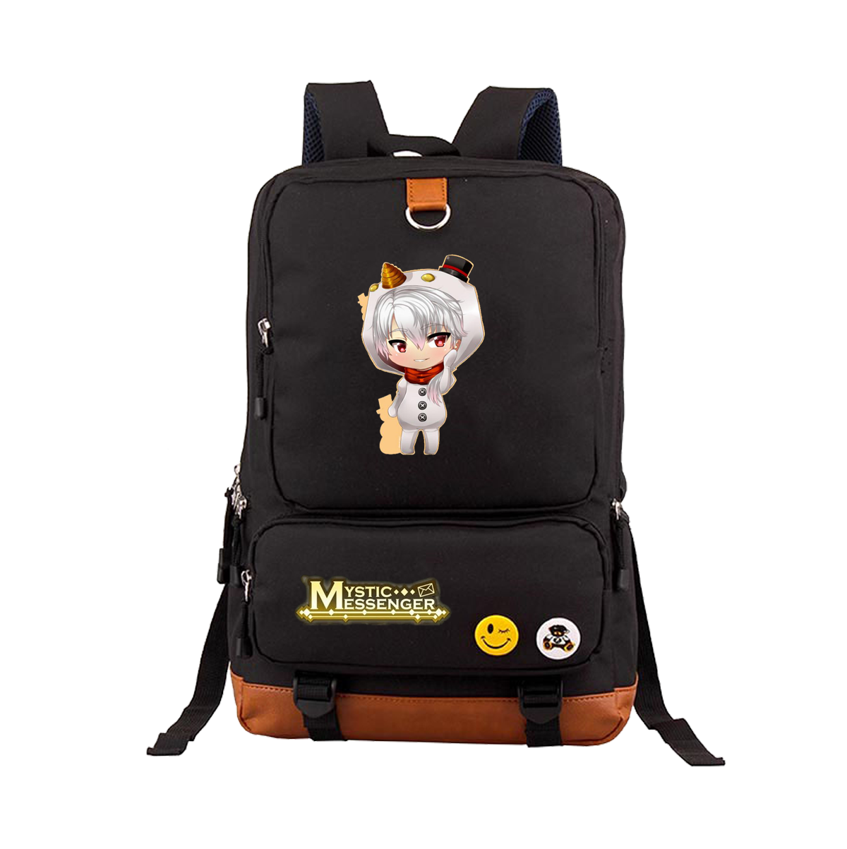 Game mystery messenger backpack junior high school students backpack leisure travel backpack computer mens and womens bags
