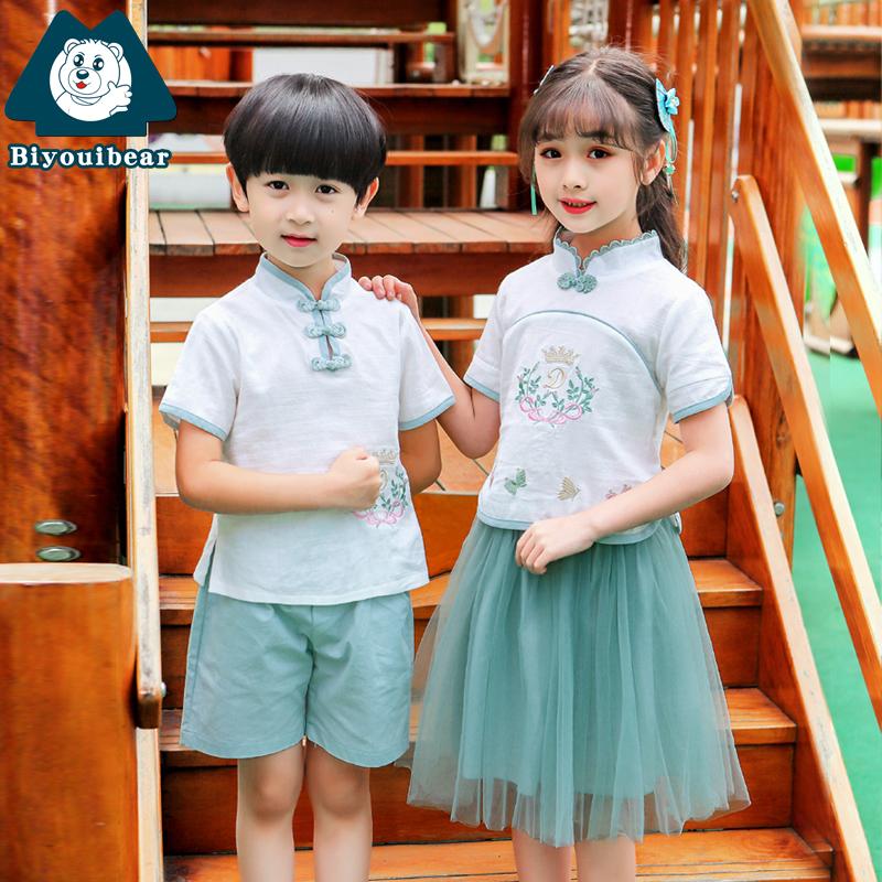 幼儿园男女童改良款古装儿童汉服11月29日最新优惠