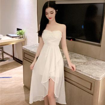 宴会网纱小礼服2020女夏新款连衣裙