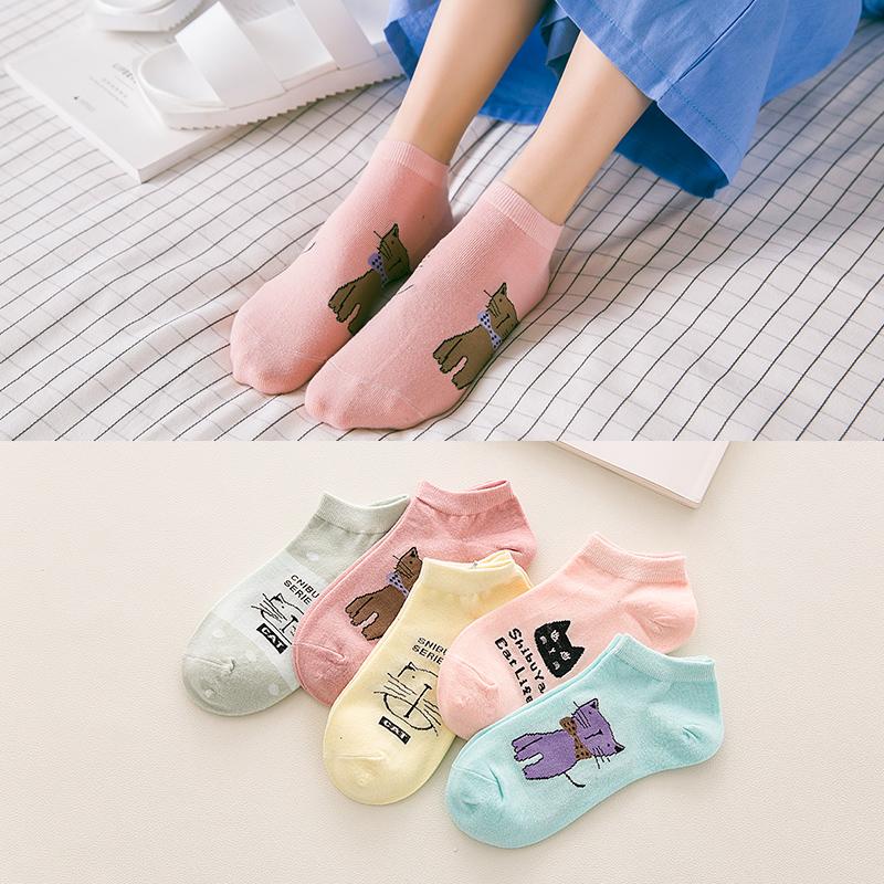 女士低帮浅口韩国运动隐形袜