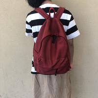 2019无印帆布双肩包百搭女日系简约旅行ins男女背包高中学生书包
